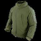 Оригинал Тактический софтшелл с флисом утепленный Condor SUMMIT Soft Shell Jacket 602 XX-Large, Graphite (Сірий), фото 6