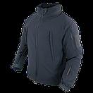 Оригинал Тактический софтшелл с флисом утепленный Condor SUMMIT Soft Shell Jacket 602 XX-Large, Graphite (Сірий), фото 7