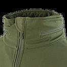 Оригинал Тактический софтшелл с флисом утепленный Condor SUMMIT Soft Shell Jacket 602 XX-Large, Graphite (Сірий), фото 10