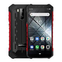 """Смартфон Ulefone Armor X3 Dual Sim Black/Red (6937748733225); 5.5"""" (1440x720) IPS / MediaTek MT6580 / RAM 2 ГБ / 32 ГБ вбудованої + microSD до 128 ГБ"""