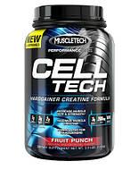 Послетренировочные комплексы MuscleTech Cell-tech performance 1400 г  лимон-чай