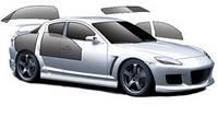Тонировочная пленка Premium Armolan LR 35% черный металлизированная