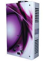 Газовая колонка Виктория JSD 10 дисплей фиолет. Fentezi