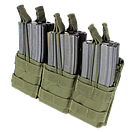 Оригинал Подсумок двойний для AR магазинов карабина молле Condor Triple Stacker M4 Mag Pouch MA44 Чорний, фото 6