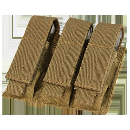 Condor Triple Pistol Mag Pouch MA52 Coyote Brown