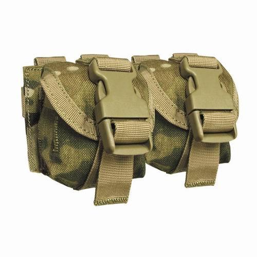 Оригинал Гранатный подсумок двойной молле Condor Double Frag Grenade Pouch MA14 Чорний