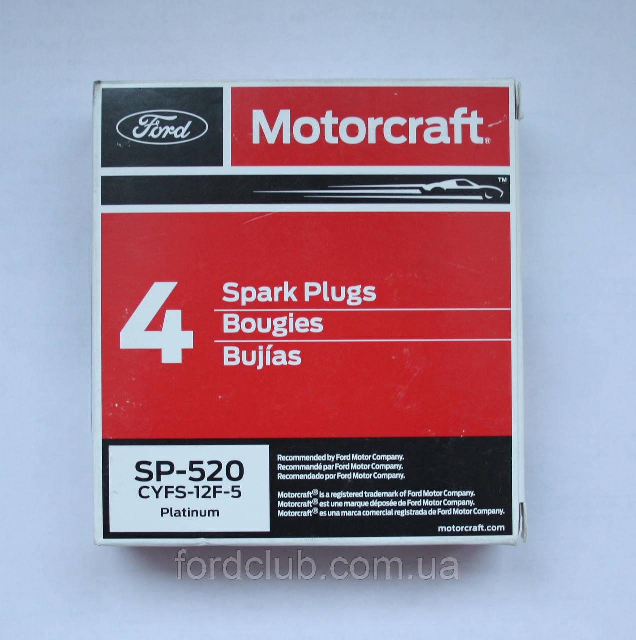 Свечи Ford Edge USA 3.5; Motorcraft SP-520 6 шт