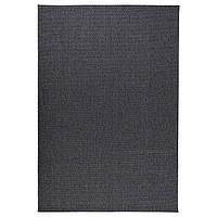 Ковер безворсовый IKEA MORUM Темно-серый (402.035.57)