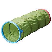Игровой туннель IKEA BUSA 145 см Зеленый (101.920.13)