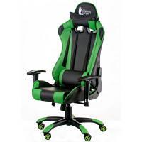 Кресло игровое Special4You ExtremeRace black/green (000003630)