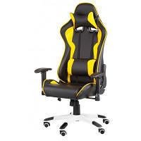 Кресло игровое Special4You ExtremeRace black/yellow (000002301)
