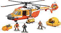 Оригинальный конструктор Мега Блокс Спасательный вертолёт береговой охраны Mega Construx Probuilder FXY58