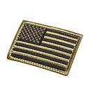 Оригинал Патч шеврон флаг США Condor US FLAG PATCH 230 Стандарт, Черв/Біл/Син, фото 2