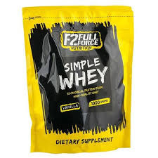 Протеины Многокомпонентные Full Force Nutrition Simple whey 1000g  chocolate