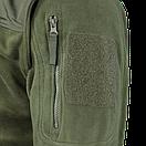 Оригинал Тактическая куртка флисовая Condor ALPHA Mirco Fleece Jacket 601 Large, Олива (Olive), фото 6