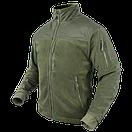 Оригинал Тактическая куртка флисовая Condor ALPHA Mirco Fleece Jacket 601 Small, Чорний, фото 2