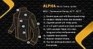 Оригинал Тактическая куртка флисовая Condor ALPHA Mirco Fleece Jacket 601 Small, Чорний, фото 7