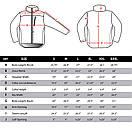 Оригинал Тактическая куртка флисовая Condor ALPHA Mirco Fleece Jacket 601 Small, Чорний, фото 8