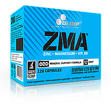 ZMA - Цинк, Магний, Витамин В6 Olimp Sport Nutrition Zma 120 caps