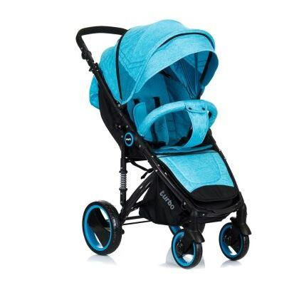 Прогулочная коляска Picnic Turbo Blue Babyhit