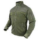 Оригинал Тактическая куртка флисовая Condor ALPHA Mirco Fleece Jacket 601 Medium, Чорний, фото 2