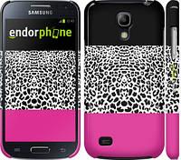 "Чехол на Samsung Galaxy S4 mini Duos GT i9192 Шкура леопарда v3 ""2723c-63"""