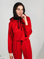 Красный спортивный костюм S-M, M-L, фото 1