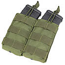 Condor Double M4/M16 Open Top Mag Pouch MA19 Тан (Tan), фото 3