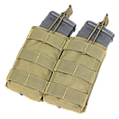 Condor Double M4/M16 Open Top Mag Pouch MA19 Тан (Tan), фото 5