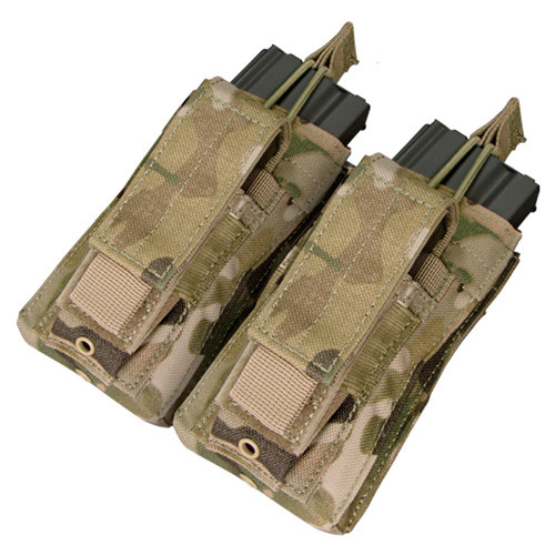 Condor Double Kangaroo Mag Pouch MA51 Coyote Brown