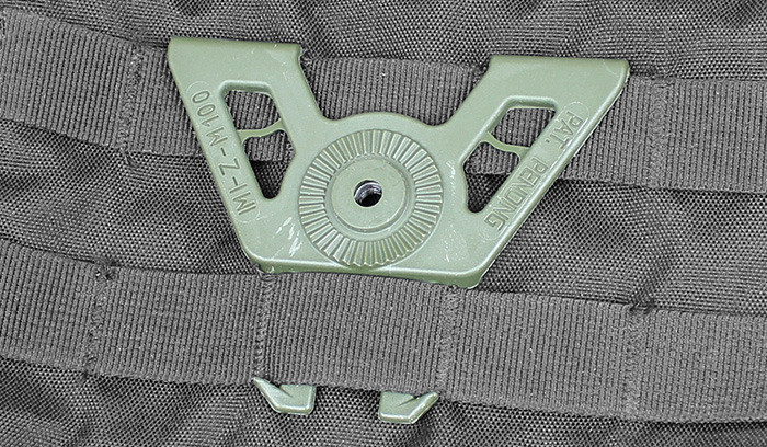 Оригинал Молле крепление IMI-ZM100 Molle Attachment Олива (Olive)