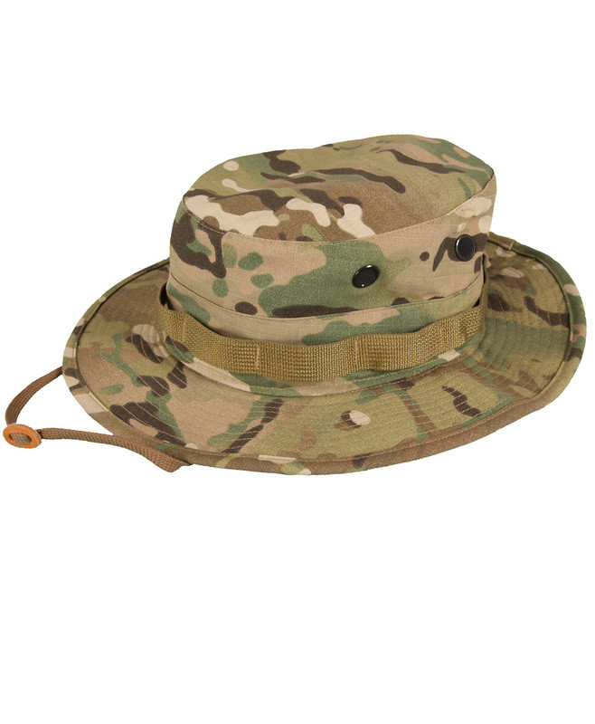 Propper BATTLE RIP® SUN HAT/BOONIE F5502-38-377 65/35 POLY COTTON RIPSTOP 7 3/4, Crye Precision MULTICAM