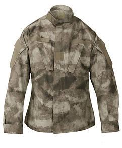 Оригинал Военная форма США (верх) Propper ARMY COMBAT UNIFORM COAT A-TACS F5459-38-379 BATTLE RIP 65/35