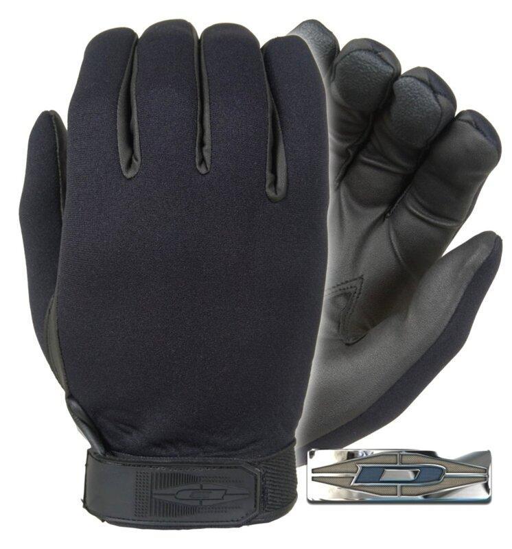 Damascus Neoprene Gloves DNS111E (discontinued) Medium, Чорний