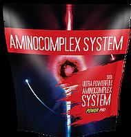 Аминокислотные комплексы Power Pro Aminocomplex system 0,5 кг  клюква