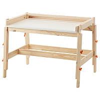 Детский письменный стол IKEA FLISAT регулируемый (202.735.94)