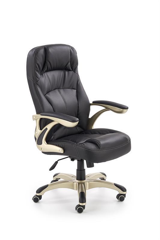 Крісло CARLOS чорний (Halmar)