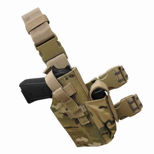 Condor Tactical Leg Holster TLH Чорний, без верхнього карабіну