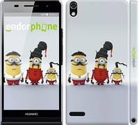 "Чехол на Huawei Ascend P6 Миньоны 2 ""294c-39"""