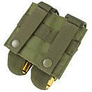 Оригинал Гранатный 40мм подсумок армии молле Condor 40mm Grenade Pouch MA13 Олива (Olive), фото 4