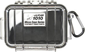 Pelican Micro Case 1010 Прозорий, із чорним демпфером