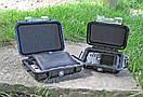 Pelican Micro Case 1020 Прозорий, із чорним демпфером, фото 2