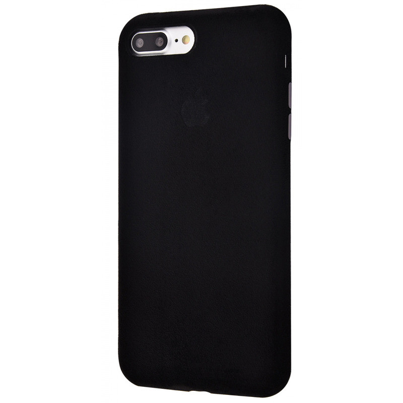 Чехол Alcantara 360 Protect iPhone 7 Plus / 8 Plus (black)