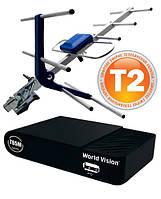 Комплект Т2  World Vision T65М + антенна ES-003 с усилителем