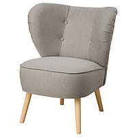 Кресло IKEA GUBBO Светло-серый (703.449.66)