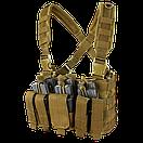 Оригинал Тактический нагрудник Condor Recon Chest Rig MCR5 Kryptek™ Highlander™, фото 5