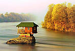 В единстве с природой – деревянные дома, построенные вдали от цивилизации (100 фото)