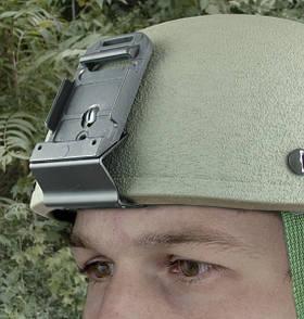 Оригинал Крепление для ПНВ на шлем армии США USGI Military MICH Helmet Bracket Чорний