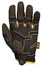Оригинал Тактические перчатки механикс Mechanix Wear CG4x Padded Palm CG4P-29, Moss Medium, Коричневий, фото 2