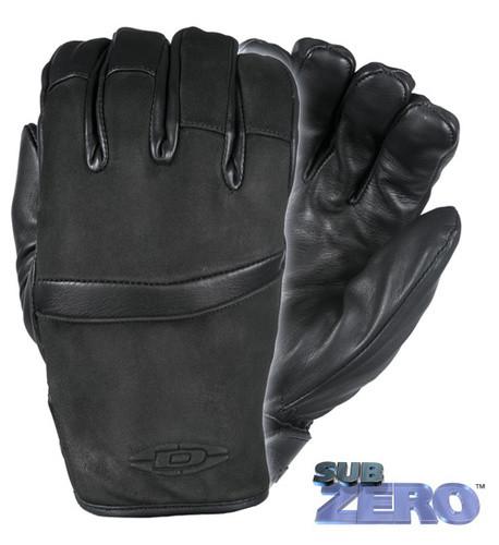 "Оригинал Зимние кожанные перчатки Damascus SubZERO™ - The ""ULTIMATE"" cold weather gloves DZ-9 XX-Large, Чорний"